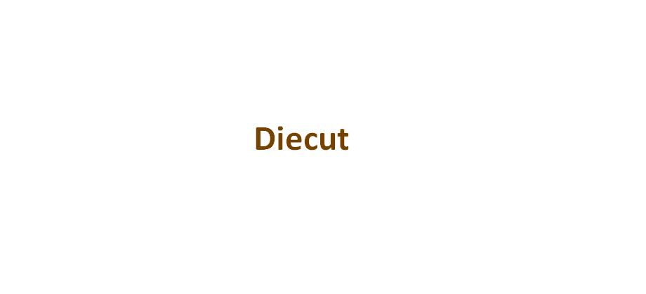diecut